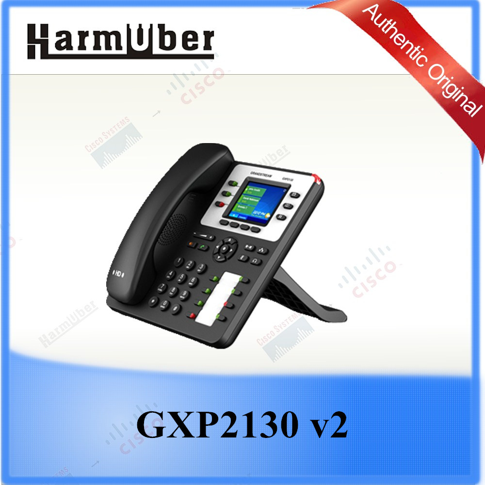 A High-profile Desktop Phone GXP2130 v2 Grandstream IP Phone