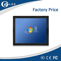 12 inch 800x600 LCD Touch Monitor for Bus Mounted