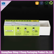 Hot popular folding paper drawer box packaging and foldable gift box