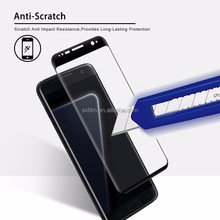 2017 new hot bending 3d full cover tempered glass screen protector for samsung s8 plus