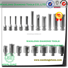 high quality vacuum brazed diamond core drill bits for porcelain drilling,ceramic tile drill bit manufacturer