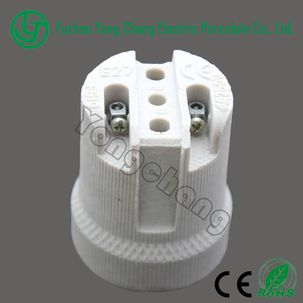 stand socket e 27 ceramic lamp base