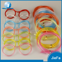 Popular Funny Eye Drinking Straw for Kids Plastic Glasses Drinking Straw