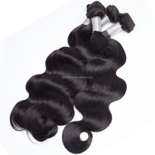 Natural color 100% human Hair body wave unprocessed cheap Brazilian 8-30inch virgin hair