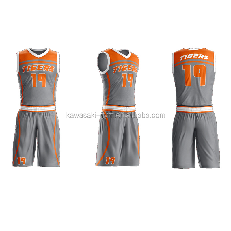 European sublimation cheap youth basketball uniform set design green custom