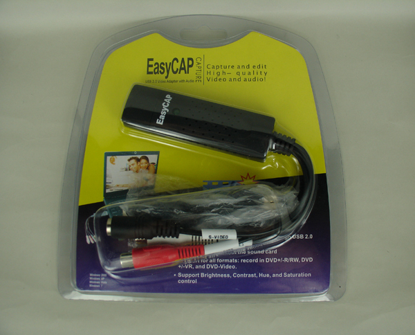 Modern H.264 high resolution easycap usb 2.0 video audio capture card for CCTV Camera,Laptop use
