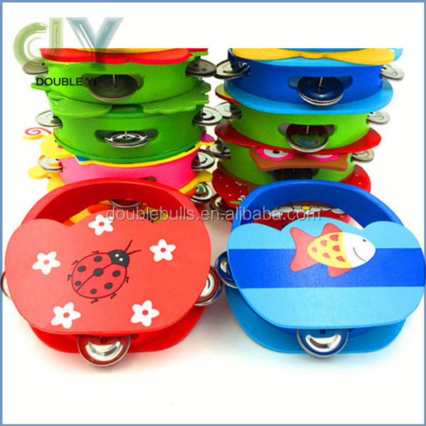 High quality Custom Cute funny baby shaking Hand Bells for baby toys