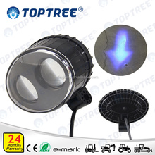 10W Two Eyes Blue Arrow LED Safety Spot Light Warning Lamp