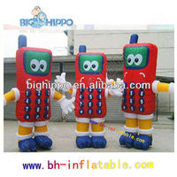 Hot selling custom commercial inflatable sasquatch cartoon