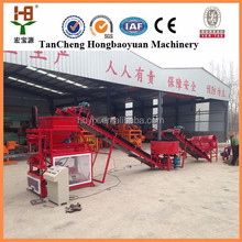 HBY2-10 hydraulic full automatic high production clay brick extruder machine high profits