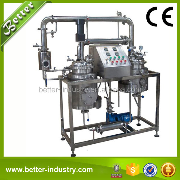 Ultrasonic Solvent Extraction Stevia Equipment/Machine