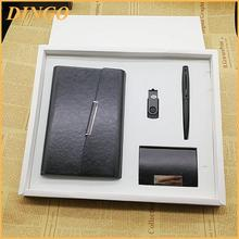 Promotional Nice Gift set with notebook cardholder pen USB