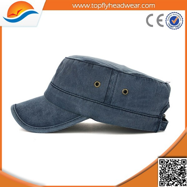 wholesale custom blank jeans fashion hot sale military hat