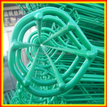 2014 hot sale parking port security fence/Powder coated double wire fence