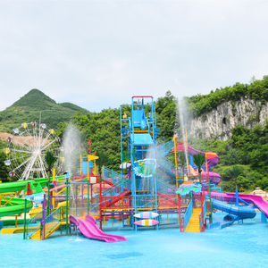 Cheap Price Frp Water Park Slide For Children