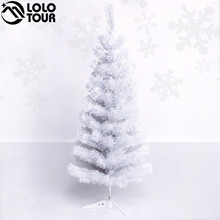 90cm Thick Christmas Decorations and Ornaments White Artificial Mini Christmas Tree