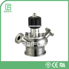 Sanitary Triclamped Aseptic Sample Valve 304/316 high quality Manual for Sterilization