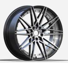 20 inch aluminum alloy wheel for car with 5 holes, pcd 5x120 alloy wheels, machine face alloy wheel rim (ZW-BY1322)