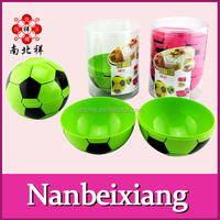 World Cup Soccer Bowl Plastic Football Shape Bowl