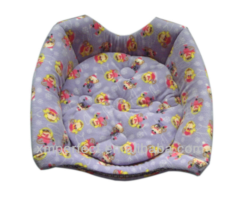 Double-Purpose Pattern Fleece Pet Bed(House)