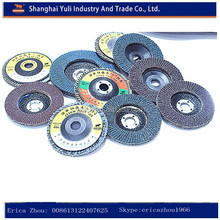 Abrasive flap wheel for stainless steel Grit 40-1000