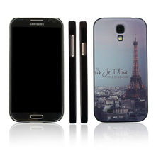 pc hard case Effiel tower case for samsung galaxy s4 ultra thin full body protector cover