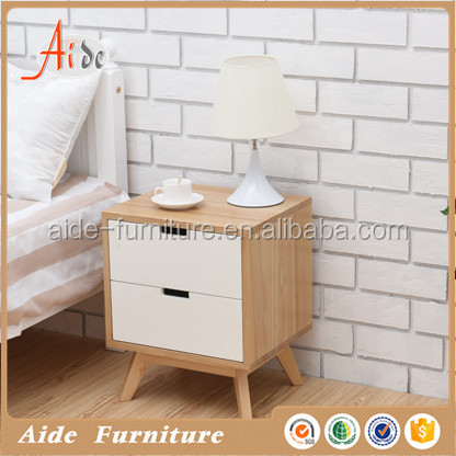 mdf mdf bed side table for bedroom furniture