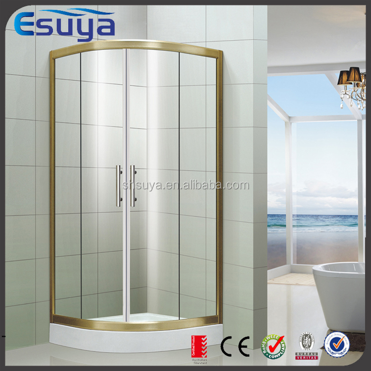 HOT sell combo corner bath shower bath and rubber seal for folding ...