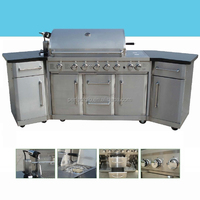 Outdoor Kitchen Gas BBQ PG-50601SRL-SC
