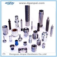 CNC lathe machining stainless steel hollow dowel pin