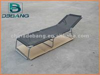 Steel folding bed DB1050D-- Lounger,Sun Bed, Beach chair