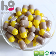 empty gelatin safety capsules size B