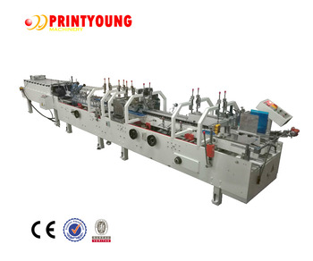 ZH-880G Automatic Multifunctional Crash Lock Bottom Folder Gluer machine