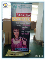 "Hotsale Roll up banner ,Roll up display stand, 31.5"" * 79""inch Roll up display stand size"