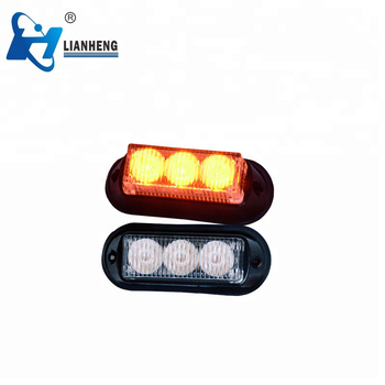 Auto super bright amber LED warning light warning dash light