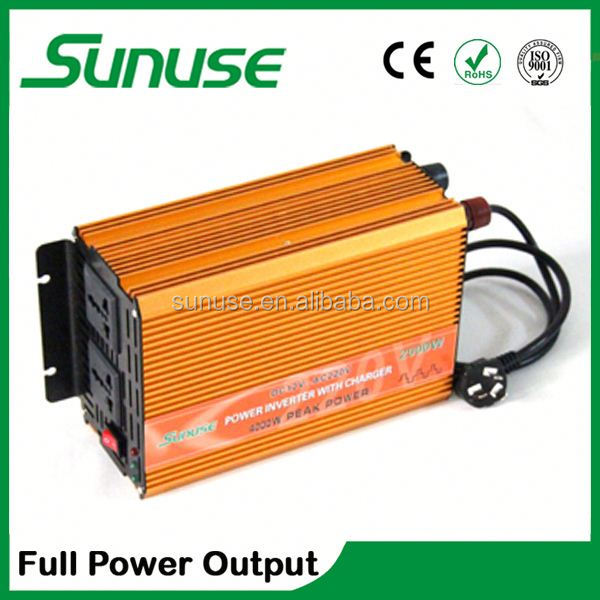 2000W UPS home power inverter with chargercharger and battery invertor ,power inverter dc 12v ac 220v
