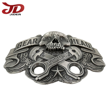 The Skull Customized Metal Belt Buckle