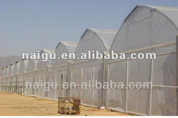 plastic sheet greenhouse cover with lower peice