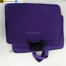 hot selling top quality custom color 17 inch neoprene laptop sleeve for sale