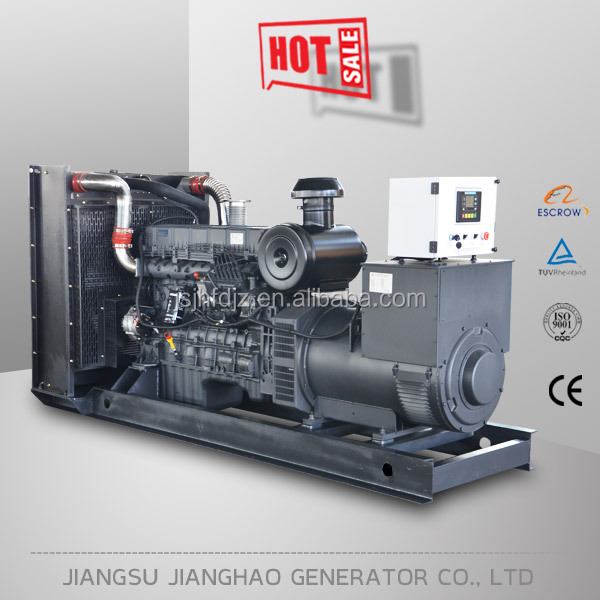 800kw 1000kva shangchai diesel generator set with water cooled system