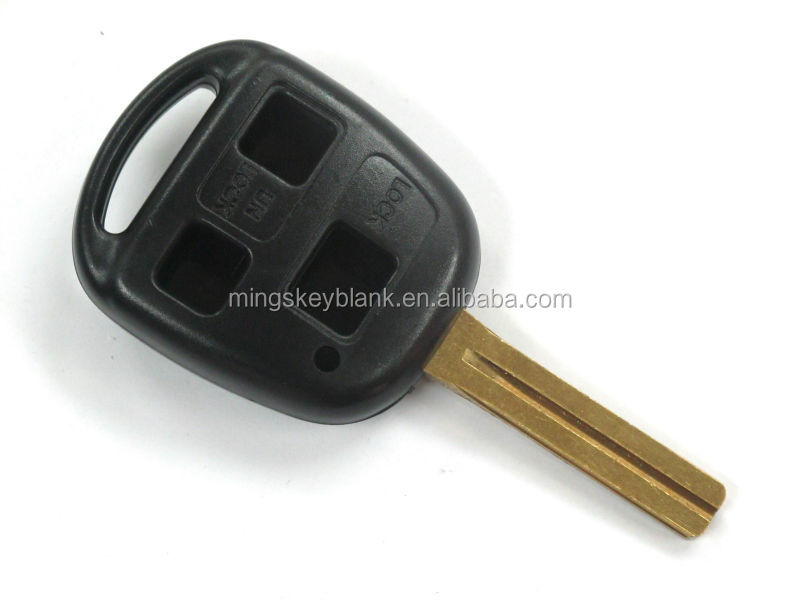 Remote car key shell case 2 button for TOYOTA car key
