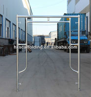 Frame scaffolding set with catwalk, brace,joint pin, stair and ladder