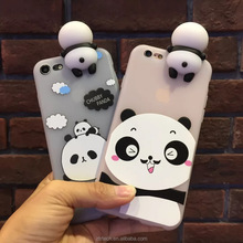 Phone Cases For iphone 6 6plus cute cartoon panda soft kawaii tpu silicon case cover coque for iphone 7 7Plus fundas