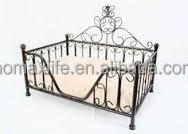 luxury metal dog bed wholesale