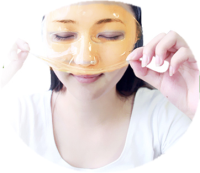 OEM Private Label, 24k Gold Collagen Crystal Anti-aging Face Mask