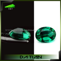competitive emerald price per carat lab created rough cut emerald