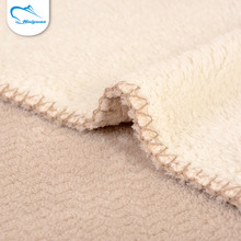 China factory price customized comfortable brushed felt fabric