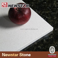 Top Quality Stellar White Solid Surface Artificial Quartz Stone
