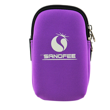 2017 Fashion Breathable Neoprene Sports Running Phone Armband Arm Bag