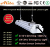 CE RoHS Certificated high brightness Three-defend led light with emergency battery backup 5 years warranty